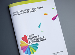 Charitable Fund Account Establishment Form